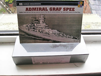 Admiral Graf Spee Battle Ship Atlas Edition Collection1:1250 Still Sealed In Box