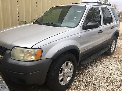 2002 Ford Escape XLT Sport Utility 4-Door 2002 Ford Escape V6 Utility XLT 2WD