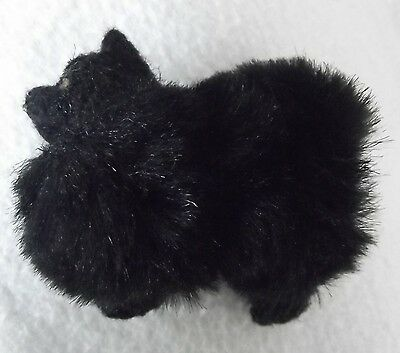 CHOW CHOW BLACK dog Part NEEDLE FELTED PIN BROOCH