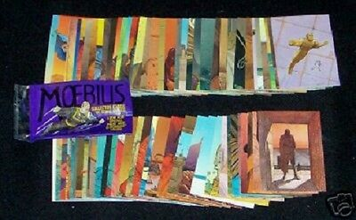 Moebius - Trading cards - Serie complete - 90 cartes -