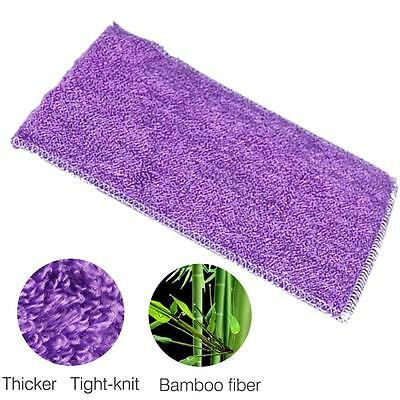 1X Bamboo Fiber Cleaning Car Wash Soft Towels Rags Hand Kitchen Cloth 23*18cm FT