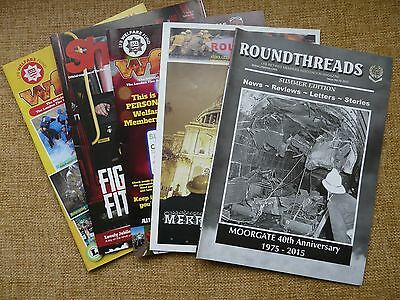 Collection Of 5 Fire Brigade Magazine/newsletters