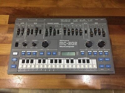 Roland MC-202 MicroComposer Synthesiser