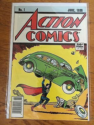 Action Comics #1 Superman (DC 1988) *Reprint* Bagged and Boarded *FIRST ISSUE*