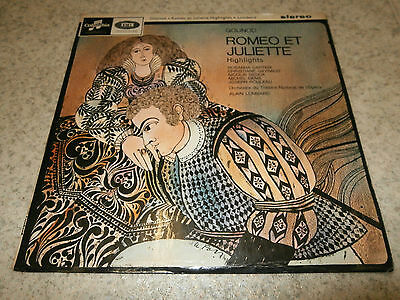 Gounod  Romeo and Juliet  Lombard  Columbia SAX 2580 Stereo LP
