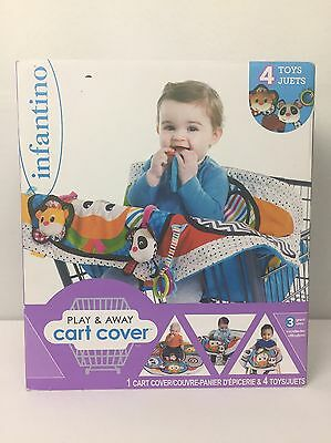 Infantino Play and Away Shopping Cart Cover and Play Mat