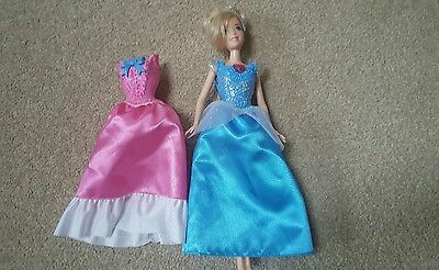 Disney Princess Doll with interchangeable clip on dress