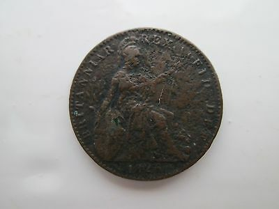 1826 George IV Farthing Coin