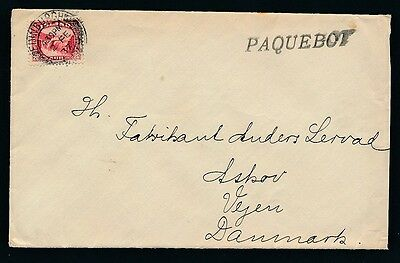 Iceland. 1937. Ship-cover