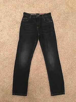 boys next dark wash jeans age 11years