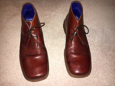 Ted Baker Brown Leather Shoes Size 10 Used
