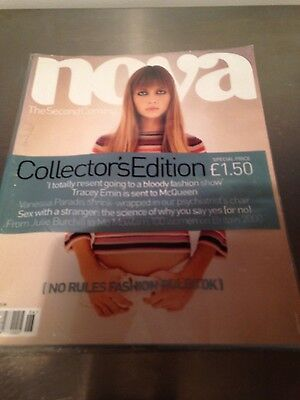 NOVA #1 Magazine relaunch first issue COLLECTORS EDITION JUNE 2000 TRACEY EMIN