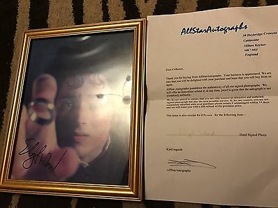 Lord Of The Rings Signed Photograph By Elijah Wood
