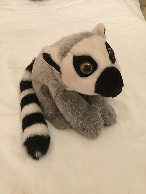 Ring Tailed Lemur Soft Cuddly Stuffed Animal Toy