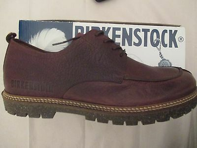 Birkenstock 'Timmins ' Brown Natural Leather Lace Up Shoes UK 8/EU 42