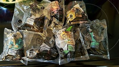 """McDonald's Happy Meal """"Sing"""" Movie toys complete set all 7 NIB"""