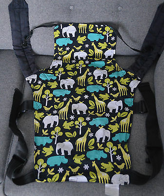 Standard Connecta Zoology Black/Green Baby Carrier/Sling.