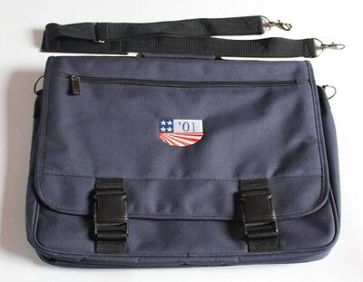 Quality Blue School Travel Laptop Messenger Courier Briefcase Bag *NEW*
