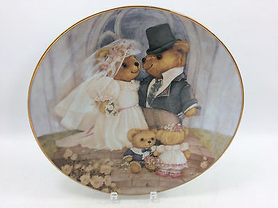 Franklin Mint - Just Married - Limited Edition Ornamental Plate