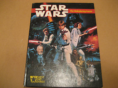 West End Games Star Wars supplement  The Roleplaying Game Hardback