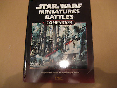 West End Games Star Wars Roleplay supplement book Miniatures Battles Companion
