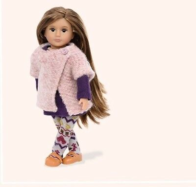 "NEW OUR GENERATION 6"" MINI DOLL Karmyn Fits American Girl Fast Shipping!"