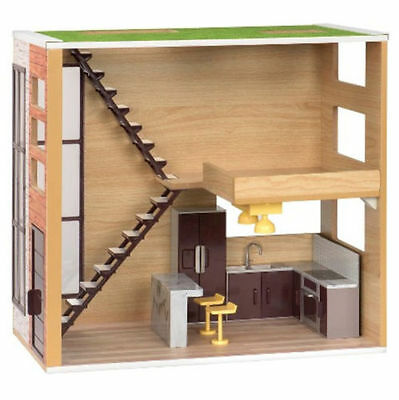 """Our Generation LOFT LOVE Lori Doll House Dollhouse fits 6"""" American Girl Minis"""