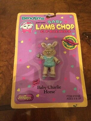 Bend-ems Baby Lamb Chop & Friends BABY CHARLIE HORSE Brand New!