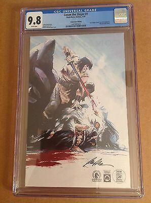 CGC 9.8 Conan the Slayer#1 SDCC Convention Variant Edition Dark Horse Comics