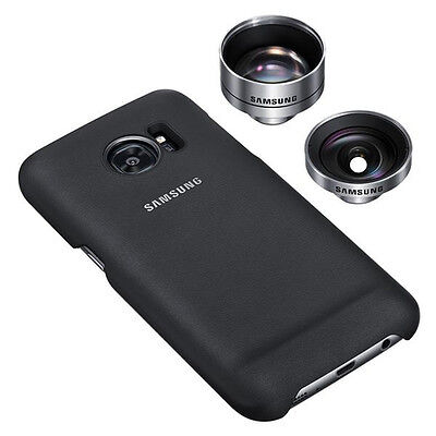 Samsung Lens Cover Prof Lens For Galaxy S7 Black New