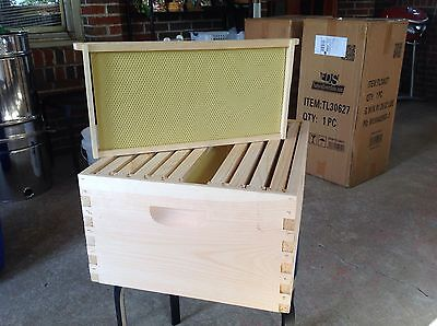 beekeeper 10 frame deep super hive body, frames & foundation Thursday  Special