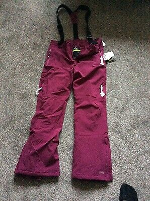 trespass ski salopettes new size L