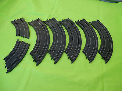 Micro Scalextric *NEW* 1/64 7x Curved Track Mint Straight From New Set #4