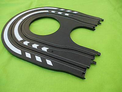 Micro Scalextric *NEW* 1/64 Hairpin Track Mint Straight From New Set #4