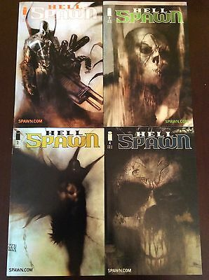 SPAWN: HELLSPAWN #1 - 16 COMPLETE SET - 5 Issues signed by Ben Templesmith