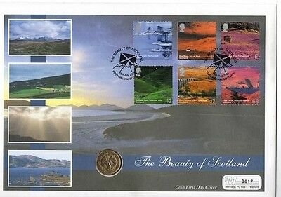 £1 Coin Cover for Scotland 1994 - low number - 17