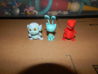 Neopets Lot of 3 Figures  RARE