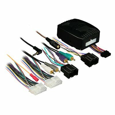 Axxess GMOS-LAN-02 GM/LAN Amplified Integrated Harness for 2