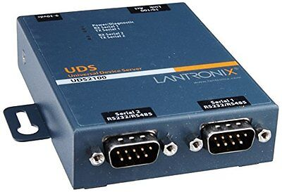 UD2100001-01 Device Server 2PRT 10/100 RS232/422/485 Dom Ps