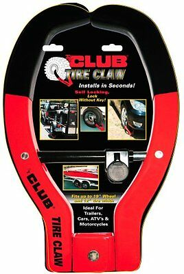 The Club #491 Tire Claw Security Device