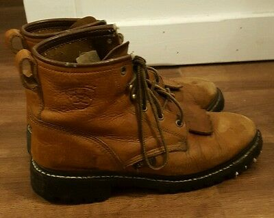 Ariat lace up Boots, size 8.5 Womens 8 1/2 USED
