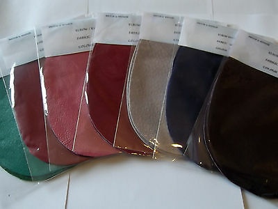 Quality Leather Or Suede Elbow Patches/trimmings In Stunning Summer Colours