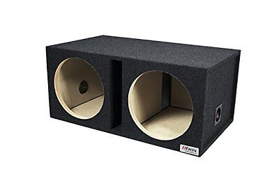 "Bbox E12DSV Dual 12"" Shared Vented Enclosure For JL, Alpine,"