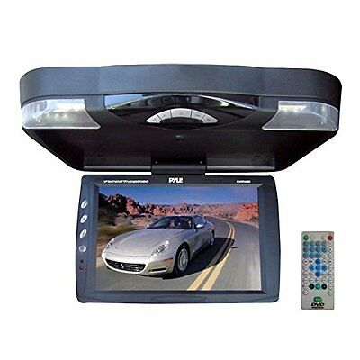 Pyle PLRD143IF 14.1-Inch Roof Mount TFT-LCD Monitor with Bui