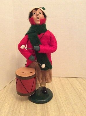 Byers Choice Ltd 1992 The Carolers Drummer Christmas