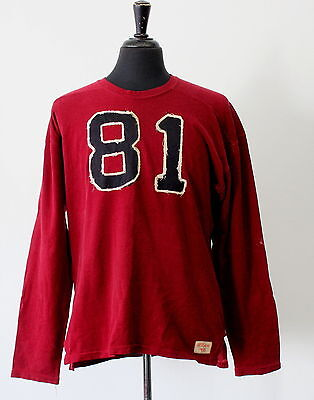 Antique Vintage 1940s-50's Durene College Football Jersey #81 Rutgers Knights?