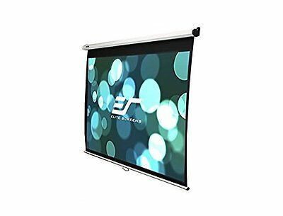 Elite Screens Manual, 120-inch 16:9, Pull Down Projection Ma