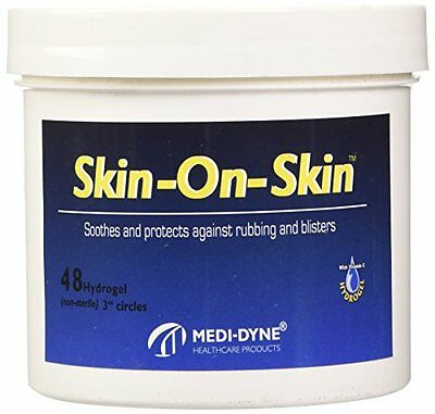 Medi-Dyne Skin-On-Skin Bathroom Aids, Circles, 3 Inch
