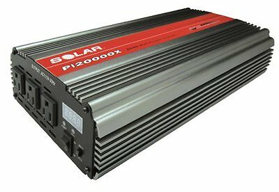 SOLAR PI20000X 2000W Triple Outlet Power Inverter