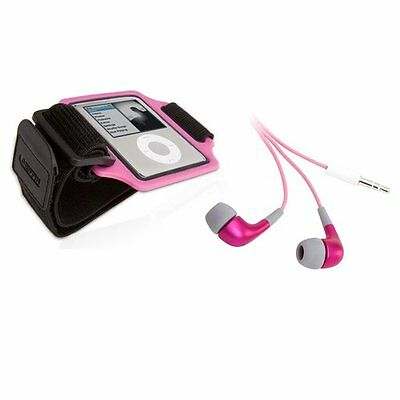 Griffin Streamline sports armband with TuneBuds for iPod nan